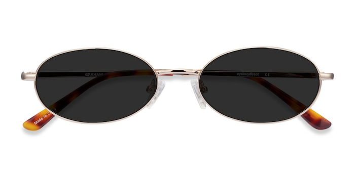 Gold Graham -  Vintage Metal Sunglasses