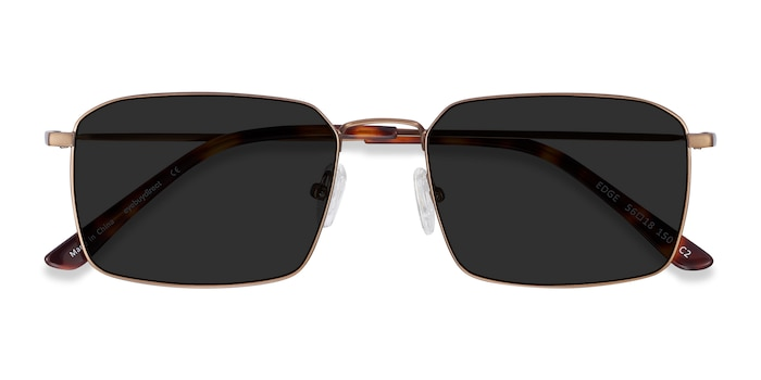 Bronze Edge -  Metal Sunglasses