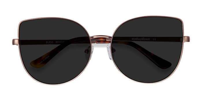 Rose Gold Bless -  Metal Sunglasses