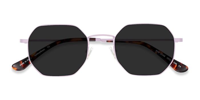 Lavender Sun Soar -  Metal Sunglasses