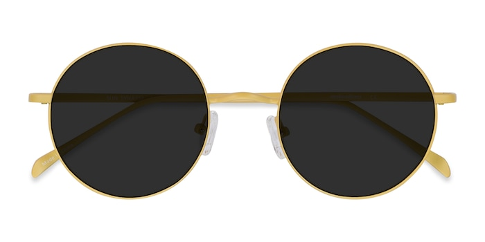 Yellow Sun Synapse -  Metal Sunglasses