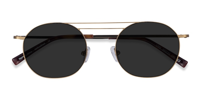 Bronze Lito -  Metal Sunglasses