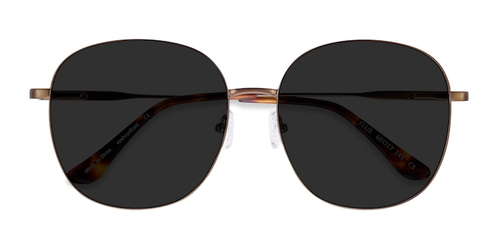 Bronze Ellis -  Metal Sunglasses