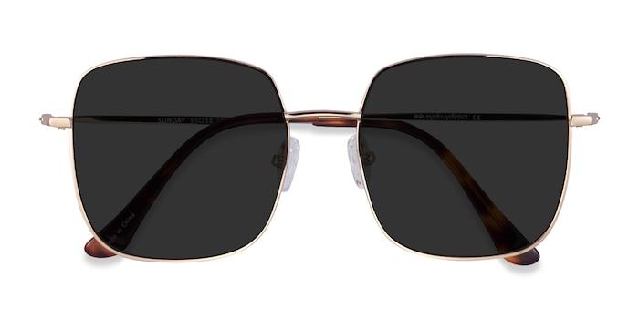 Gold Sunday -  Metal Sunglasses