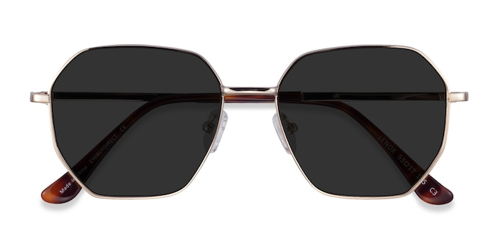 Gold Lenox -  Metal Sunglasses