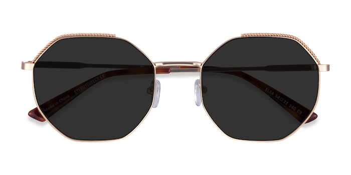 Gold Elsa -  Metal Sunglasses