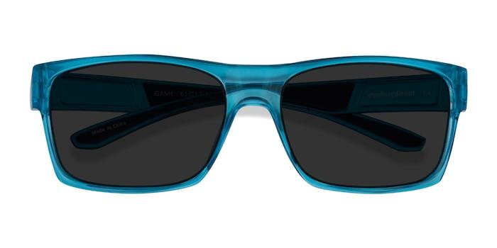Blue Game -  Plastic Sunglasses