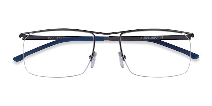 Gunmetal  Point -  Metal Eyeglasses