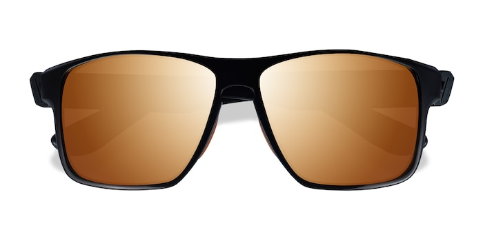 Black Orange Running -  Plastique Lunettes de soleil