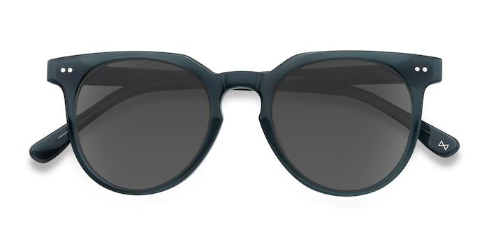 Viridian Shadow -  Vintage Acetate Sunglasses