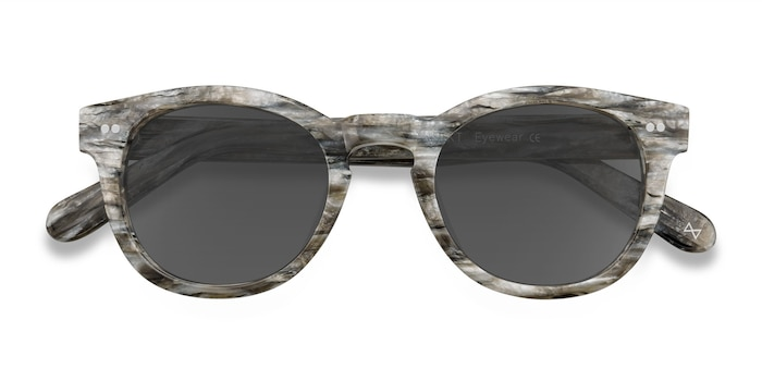 Stone Horizon -  Vintage Acetate Sunglasses