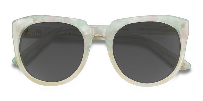 Floral Laohu -  Vintage Acetate Sunglasses