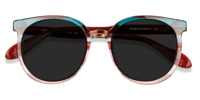 Red Green Valence -  Acetate Sunglasses