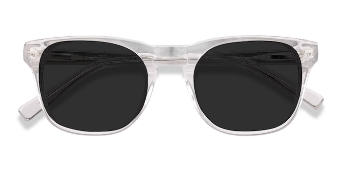 Clear Daikon -  Acetate Sunglasses