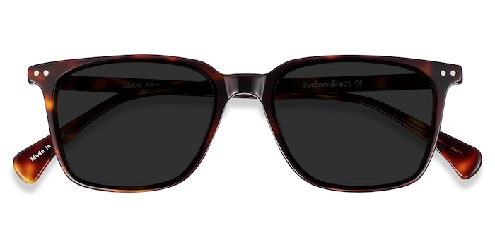 Tortoise Luck -  Acetate Sunglasses