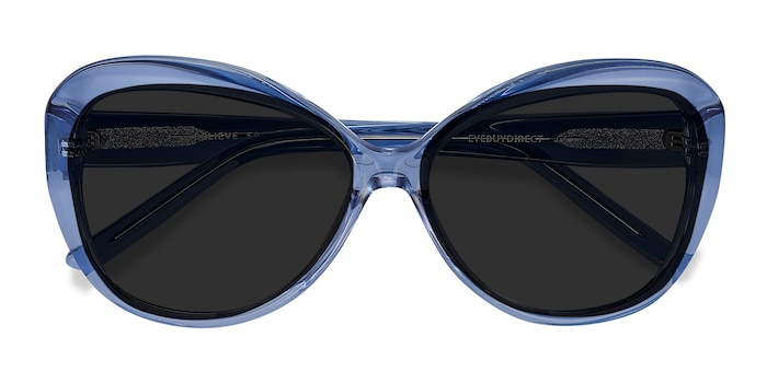 Blue Believe -  Vintage Acetate Sunglasses
