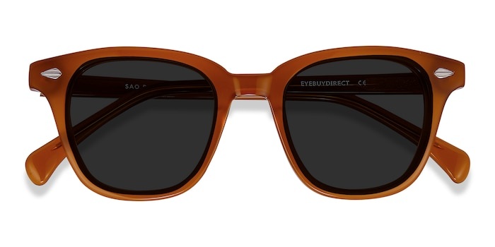 Brown Sao Paulo -  Acetate Sunglasses