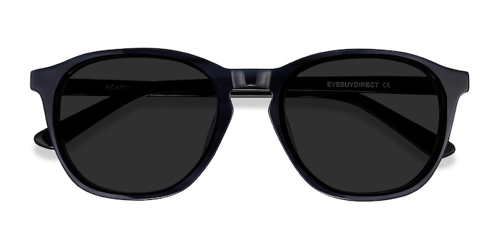 Striped Acapulco -  Vintage Acetate Sunglasses