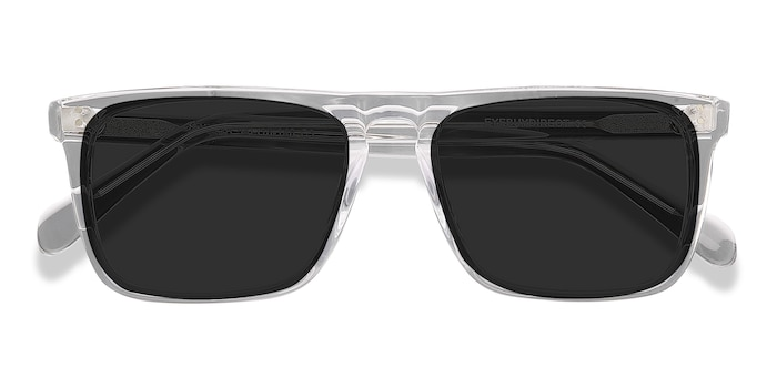Clear Cantina -  Acetate Sunglasses