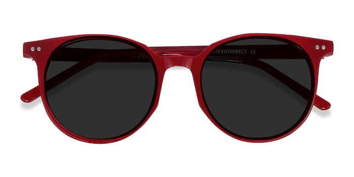 Red Hideout -  Acetate Sunglasses