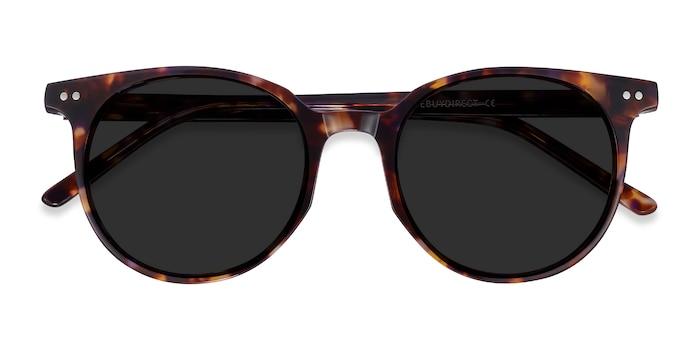 Tortoise Hideout -  Acetate Sunglasses