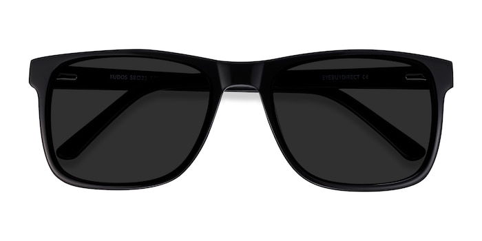 Black Kudos -  Acetate Sunglasses