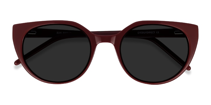 Burgundy Sun Rhyme -  Acetate Sunglasses