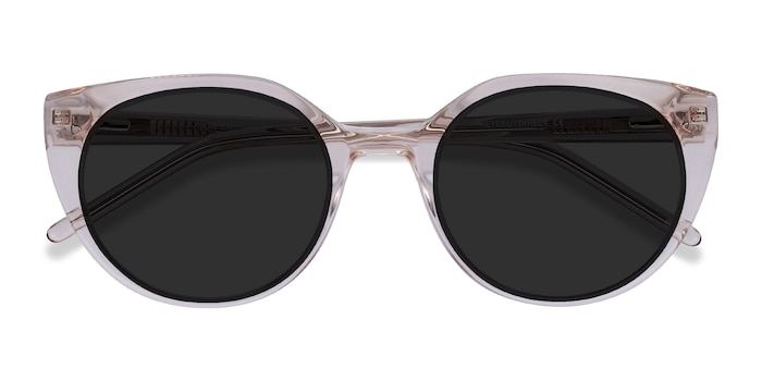 Champagne Sun Rhyme -  Acetate Sunglasses