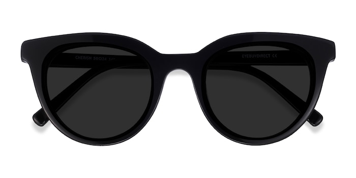 Black Cherish -  Acetate Sunglasses
