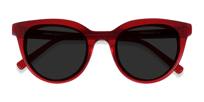 Red Cherish -  Acetate Sunglasses