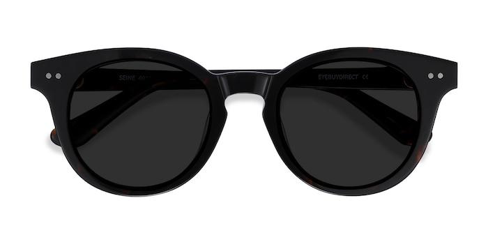 Tortoise Seine -  Acetate Sunglasses