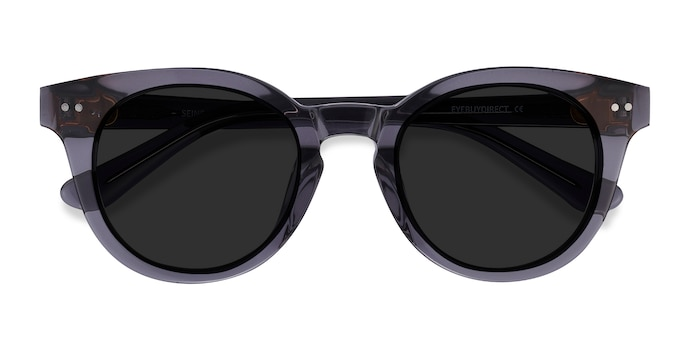 Gray Seine -  Acetate Sunglasses