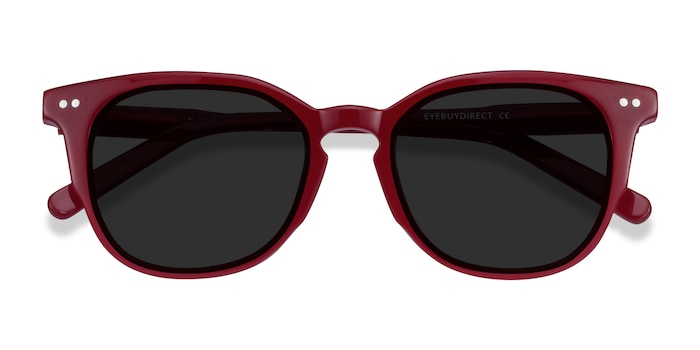 Burgundy Emilie -  Acetate Sunglasses