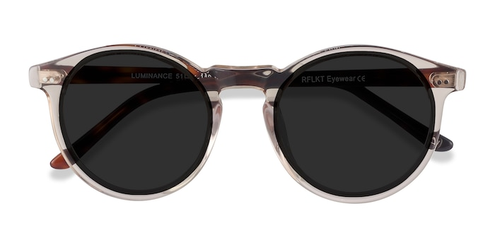Champagne Luminance -  Vintage Acetate Sunglasses