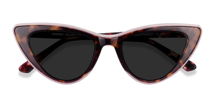 Tortoise Pink Secret -  Acetate Sunglasses