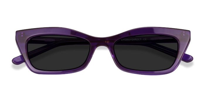 Purple Suite -  Acetate Sunglasses