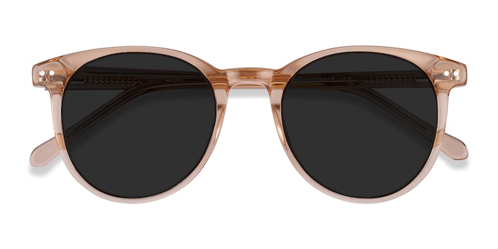 Clear Brown Seah -  Acetate Sunglasses