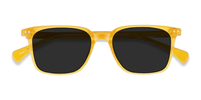 Yellow Luck -  Acetate Sunglasses