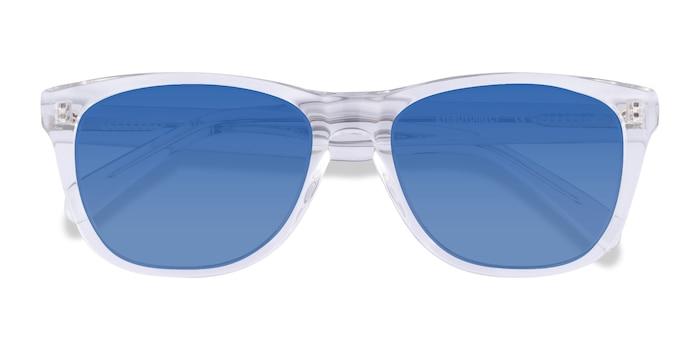Clear Malibu -  Acetate Sunglasses