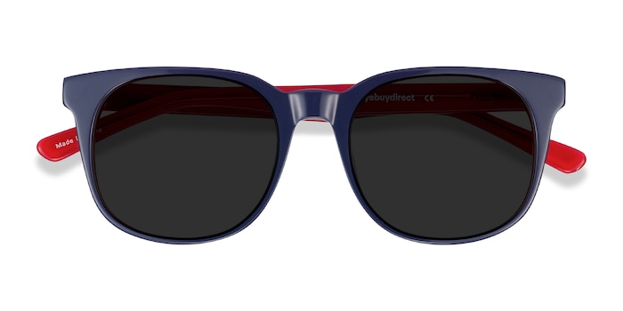Navy & Red 1776 -  Acetate Sunglasses