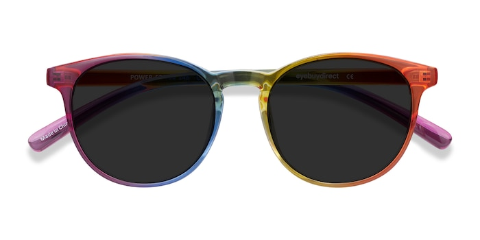 Rainbow Power -  Plastic Sunglasses