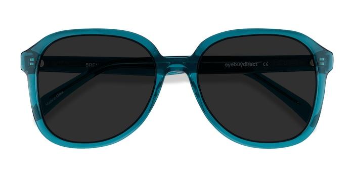 Blue Brent -  Vintage Acetate Sunglasses