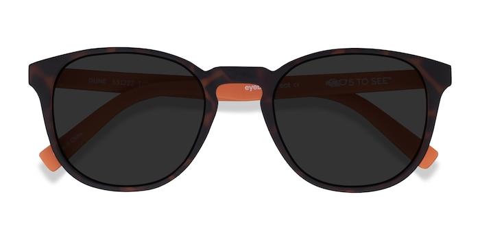 Warm Tortoise & Coral Dune -  Plastic Sunglasses
