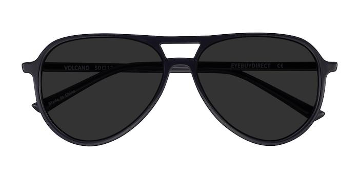Black Volcano -  Plastic Sunglasses