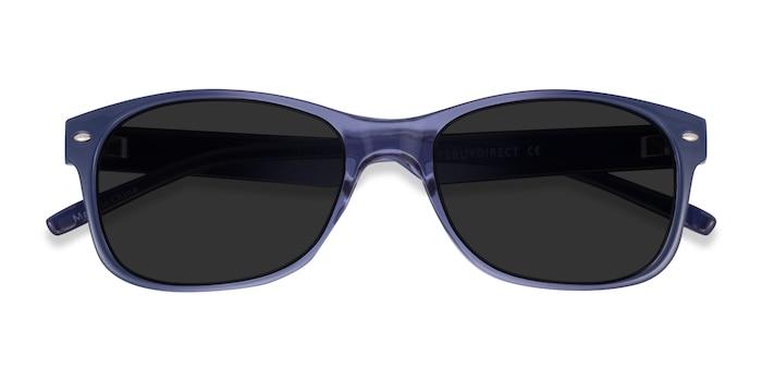 Blue Jump -  Plastic Sunglasses