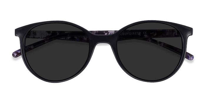 Black Floral Talent -  Plastic Sunglasses