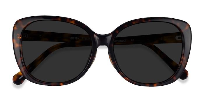 Tortoise Sherry -  Acetate Sunglasses