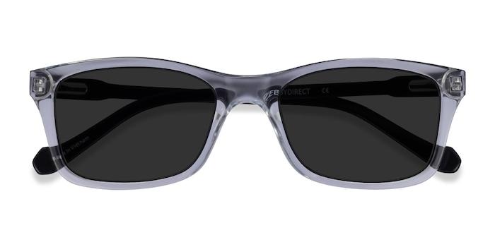 Clear Black Tennis -  Acetate Sunglasses