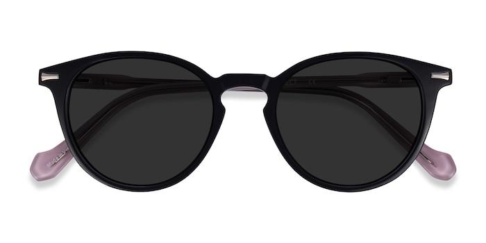 Black Pink Origami -  Acetate Sunglasses