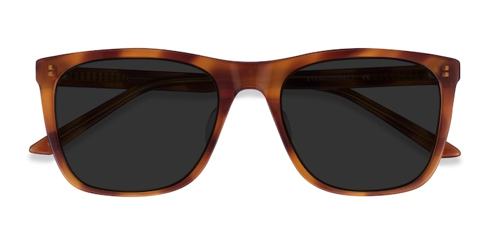 Honey Tortoise Cortado -  Acetate Sunglasses